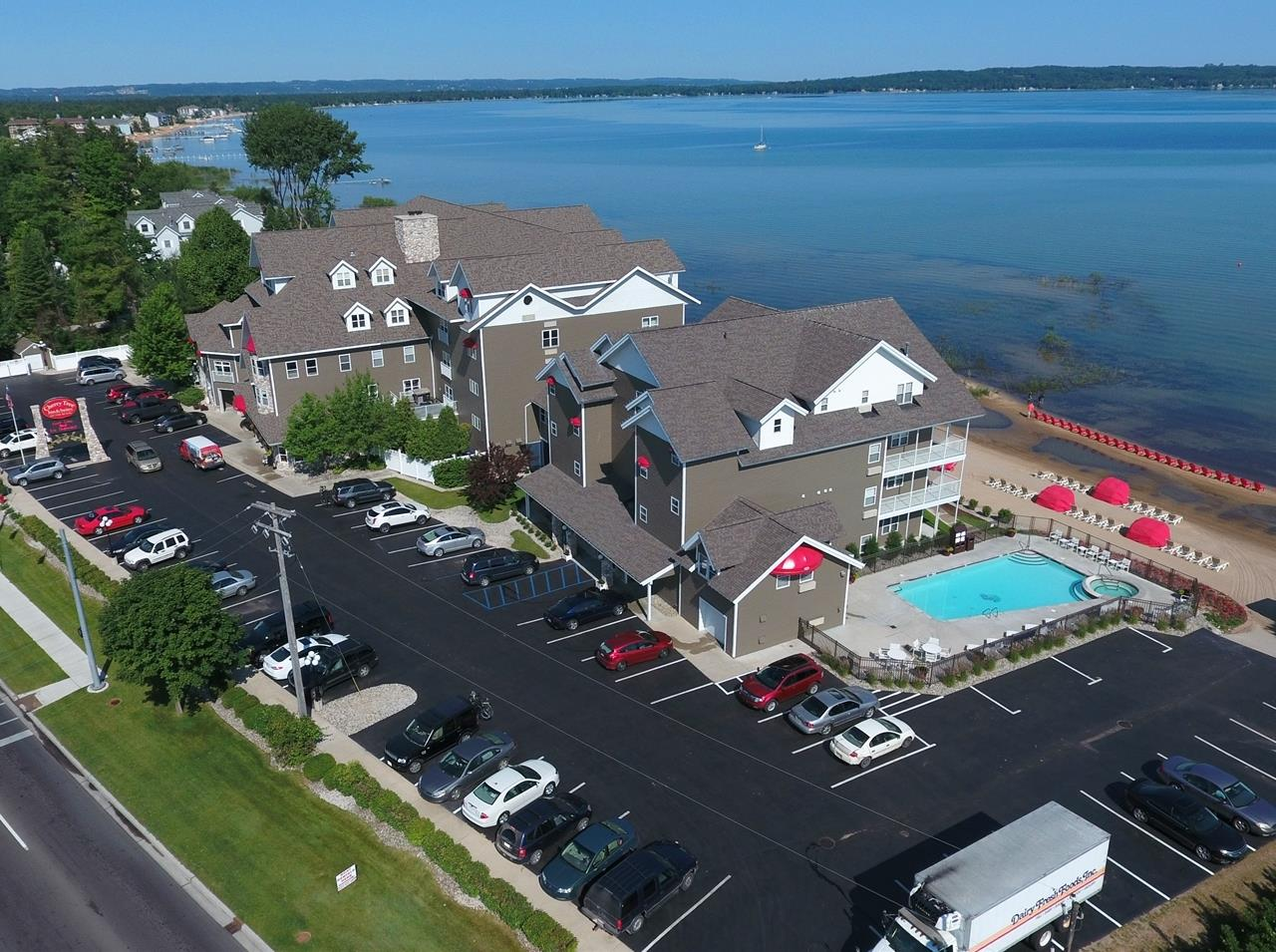 Aerial View of Cherry Tree Inn