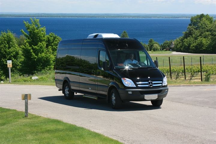 Tour Van Exploring Traverse City