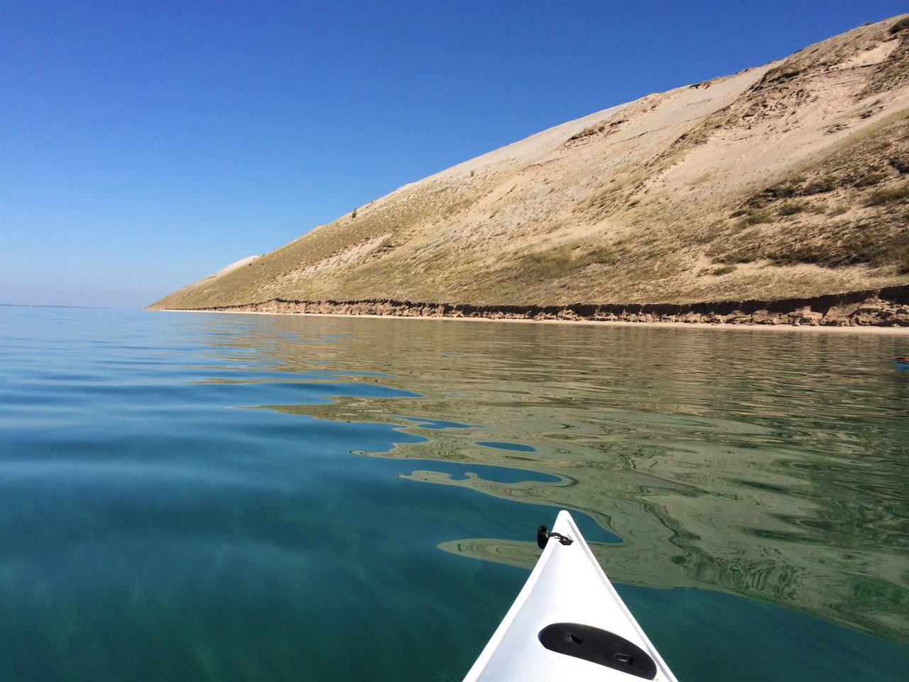 Kayaking near Traverse City